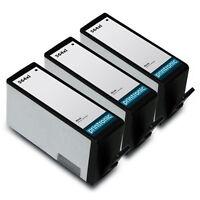 3 Pack HP 564XL Black Ink Cartridge - OfficeJet 4620 4622 PhotoSmart B209a B210a