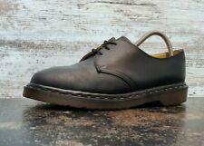 Vintage Dr. Martens Oxford Shoes Sz 9 M Made in England G14612 Black Leather