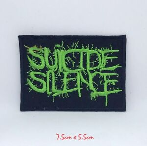 Suicide Silence Deathcore band Iron on Sew on Embroidered Patch #807