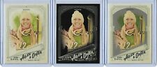 2018 ALLEN & GINTER LINDSEY VONN (3) SKIING CARD #57 LOT ~ BASE  GLOSSY  BLACK X