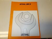 Stihl 08S Chainsaw Illustrated Parts Manual And Factory Service Manual
