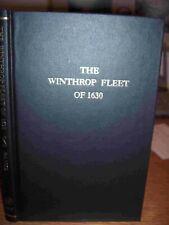 Winthrop Fleet of 1630 Genealogy Book