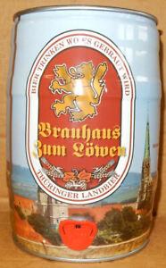 BRAUHAUS ZUM LÖWEN Bier gallon from GERMANY (5 Liter)