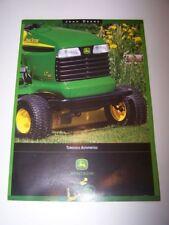 Prospectus/Brochure/Prospekt Tracteur John Deere Tondeuses autoportees (719)