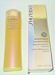 Shiseido Benefiance Wrinkle Resist 24 Balancing Softener Enriched 150ml GENUINE