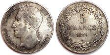 BELGIQUE - Léopold Ier - 5 F 1849
