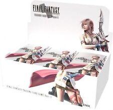 5 Final Fantasy TCG Opus 1 Booster packs Sealed English 5 packs!