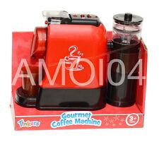 Tinkers Coffee Machine Kids Pretend Play Kitchen, Capsule Dispenser New