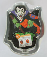 Monster Party Cake Pan Halloween Wilton Vampire Witch 2105-2039 Instructions
