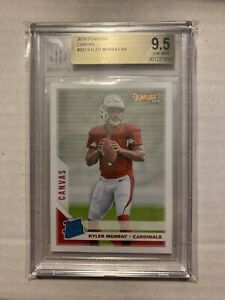 2019 Panini Donruss Kyler Murray Rated Rookie Canvas BGS 9.5
