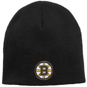 Boston Bruins Boy's Reebok NHL Black Winter Knit Beanie