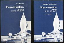 Flugnavigation Lehrbuch & Lösungen für CPL / IFR / CVFR - Günter Sjösström