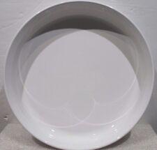 "Corning Ware F-3-B <>10 "" French White Quiche Pie Baking Dish"
