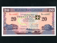 Northern Ireland:P-342,20 Pounds,2007 * Ulster Bank * AU-UNC *