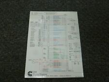 2003-2007 Cummins ISM Engine Electrical Wiring Diagrams Manual 2004 2005 2006