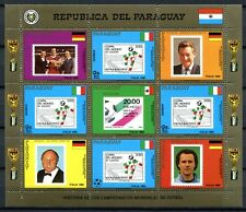 PARAGUAY 1988 Fußball WM Soccer FIFA World Cup 4272 Kleinbogen ** MNH