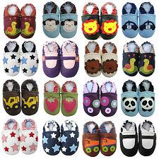carozoo nouveau bébé en cuir pantoufles jusqu'à 8 ans bottes chaussures unisexes