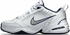 NIKE AIR MONARCH IV 4 Men's White/Navy/Silver - Standard (D) Width - New in Box