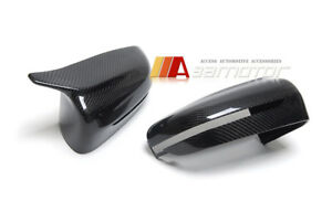Replacement Carbon Fiber M Style Side Mirrors fit for 17-19 BMW G30 G31 5-Series