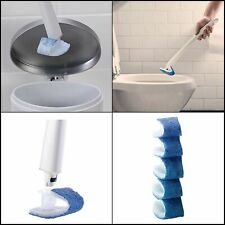 Scotch-Brite Disposable Toilet Scrubber Refills Removes Rust & Hard Water Stains