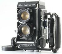 [Rare N Mint] Mamiya C330 Pro S TLR Sekor DS 105mm F3.5 Blue Dot Lens from Japan