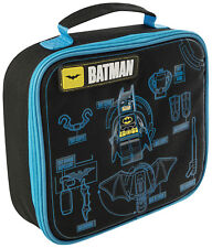 Batman Lego Movie Insulated Lunchbag for Boys Packed Lunch Bags