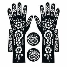 Hand Template Temporary Tattoo #Henna #Stencil Sticker Body Art Vinyl