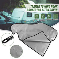 💦 PVC Towing Hitch Coupling Lock Tow Ball Dust Cover Caravan Trailer Motorhome