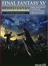 Final Fantasy XV 15 Ultimania Battle   Map Side Game Guide Book F/S w/Tracking#