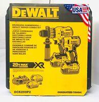 Dewalt 20V DCK299P2  Brushless Combo Kit  2-Tool 5.0Ah DCD996 DCF887 NEW