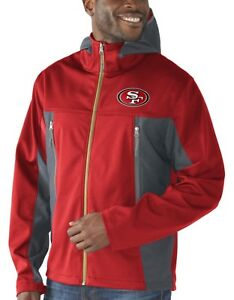 "San Francisco 49ers NFL G-III ""Repetition"" Full Zip Hooded Premium Men's Jacket"