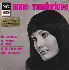 ANNE VANDERLOVE LES SOUVENIRS FRENCH ORIG EP LUCIEN LAVOUTE