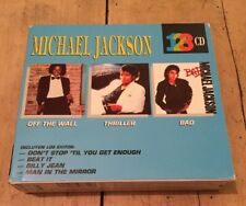 Michael Jackson Limited 3CD Album Box Set Mexico