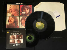THE BEATLES LET IT BE BEATLES VINYL EARLY PRESSING.