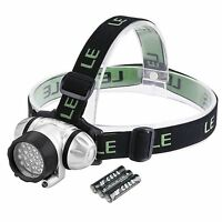 LE Headlamp LED, Light for Camping, Running, Hiking and Reading
