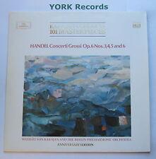DG 2543 021 - HANDEL - Concerti Grossi Nos 3 4 5 & 6 KARAJAN BPO - Ex LP Record