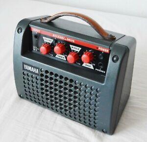 YAMAHA VA-5 PORTABLE GUITAR AMPLIFIER Mains/Battery CLEAN/DRIVE CHANNELS Busking