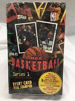 NBA 1994-95 Topps Foil Stamped Spectralight Series 1 FACTORY SEALED 36 pack BOX