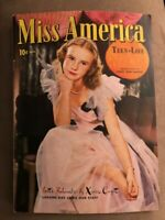Miss America Magazine; Vol 3, 2 (14) Nov 1945. VF Timely Comics Patsy Keene!