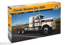 Italeri 3915 1/24 Model Tractor Truck Kit U.S American Classic Western Star 4964