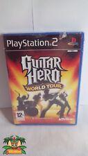 PS2 Guitare hero world tour neuf