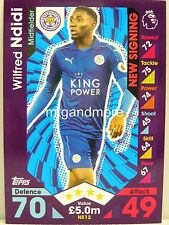 Match Attax 2016/17 Premier League -  NS12 Wilfred Ndidi - New Signing