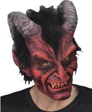 Adult size Zagone Diablo Rojo Red Devil Full Latex Mask fnt