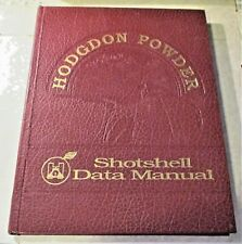 HODGDON'S POWDER SHOTSHELL DATA MANUAL, 1ST EDITION.