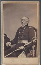 Civil War CDV Union General Silas Casey