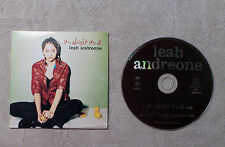 "CD AUDIO MUSIQUE / LEAH ANDREONE ""IT'S ALRIGHT IT'S OK"" CDS 2T 1996 CARDSLEEVE"