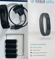 Fit Bit Alta Activity Tracker Steps Tested Working  With Band & Charger NO BOX