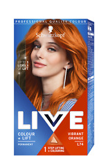 Schwarzkopf Genuine LIVE hair color Ultra Bright or pastels 2-in-1 Original NEW