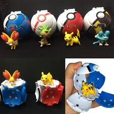 Cosplay Pokèmon Pokemon Pokeball Plastik Pop-up Pokeball+Pokemon Figur Set Spiel