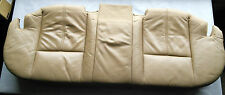 BMW E38 unterteil sitz leder beige hinten, lower part of the rear leather seats